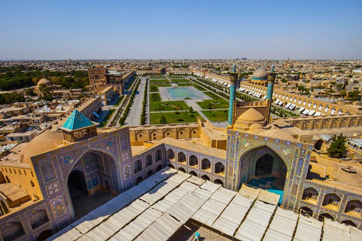 Meydan-e Naqsh-e Jahan, Esfahan, Iran