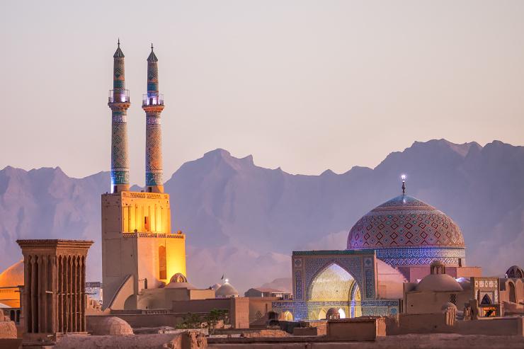 Freitagsmoschee, Masjed-e Jameh, Yazd, Iran