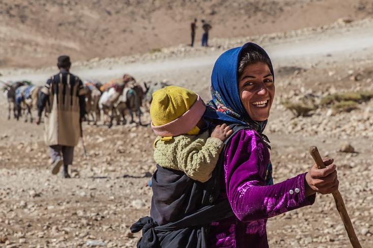 Sar Agha Seyed, Zagros, Nomaden, Bakhtiaren, Iran