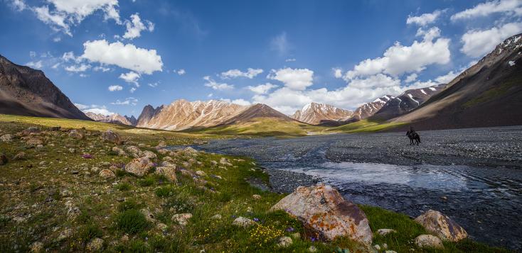 Kleiner Pamirs in Afghanistan, Wakhankorridor