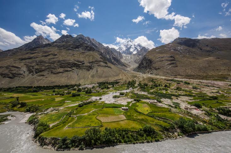 Afghanistan, Wakhan, Pamir, Baba Tangi, Kret