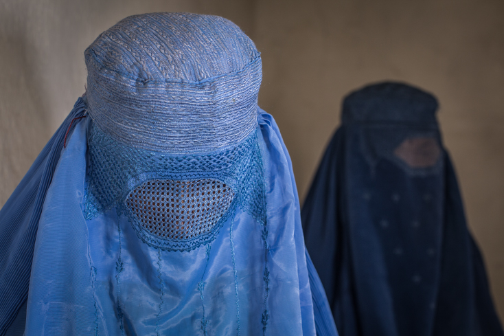 Afghanistan, Wakhan, Burka, Ishkashim