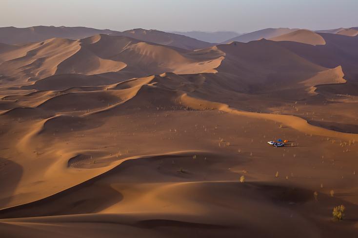 Dünen, Rig-e Yalan, Wüste Dasht-e Lut, Iran,