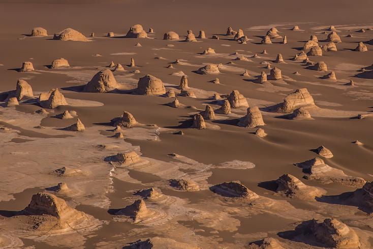 Wüste Dasht-e Lut, Iran