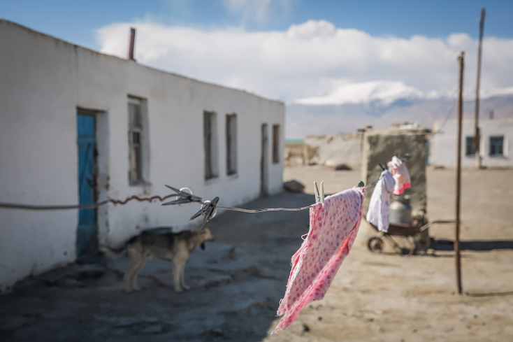 Karakul, Pamir, Pamir Highway, Tadschikistan, Tajikistan,