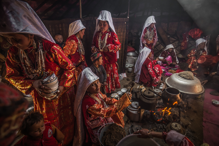 Kirgisische Hochzeit in Afghanistan, Großer Pamir, Wakhan,Priska Seisenbacher