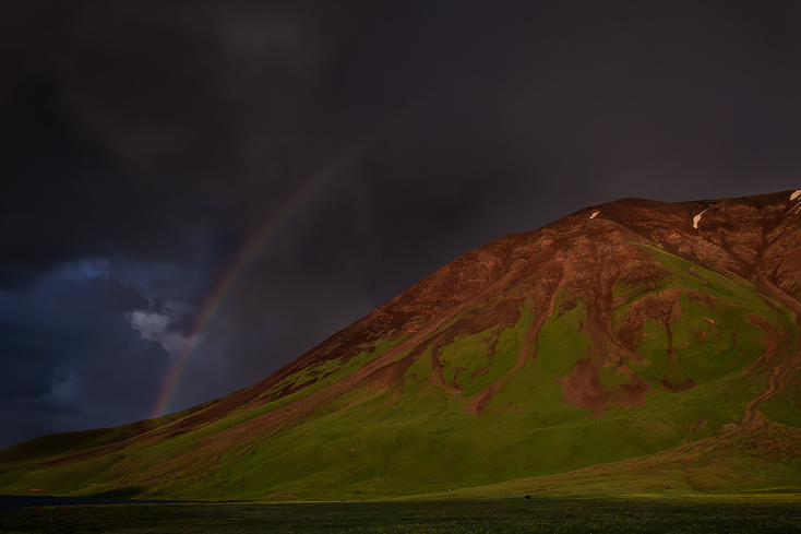 Kirgistan Regenbogen, Kyrgyzstan rainbow
