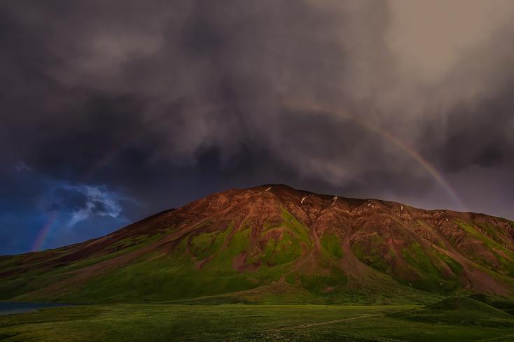 Kirgistan Regenbogen, Kyrgyzstan rainbow, Priska Seisenbacher