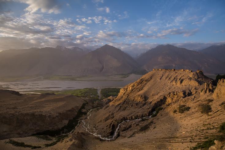 Festung Yamchun im Wakhan-Korridor, Tadschikistan